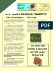 newsletter 9-18-15