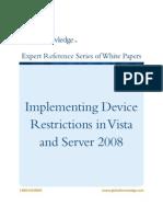 WP Weadock Device Restrictions P