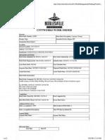 Street Department Work Order