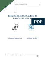 Apuntes Control Lineal en El Espacio Estados