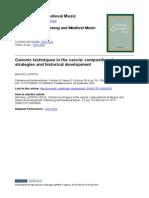 Lopatin - Canonic Techniques in the Caccia-libre