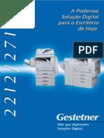 Catálogo Gestetner 2212-2712