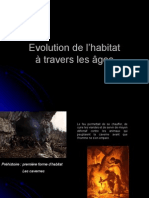 Evolution de l Habitat