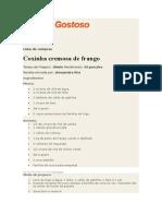 Coxinha Cremosa
