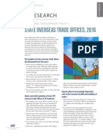 State Overseas Trade Offices, 2015