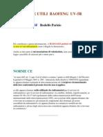 Baofeng UV-5R Modifica Trucchi e Guasti by Iw2bsf 2014