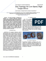 A New PM Machine Topology for Low-Speed, High-Torque Drive