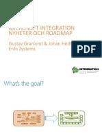 Microsoft Integration Roadmap