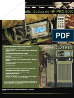 PRC2090 Tactical HF Brochure A22 Spanish