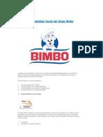 Responsabilidad Social Del Grupo Bimbo