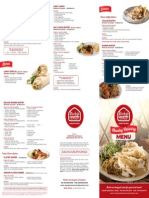 Ricky's Abbotsford Catering Menu