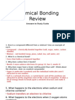chemical bonding review