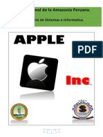 Trabajo de Apple Corporation inc. UNAP-FISI
