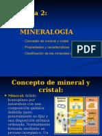 Tema 2 Mieralogia