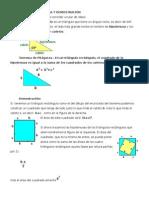 El teorema de Pitágoras y Demostración.docx