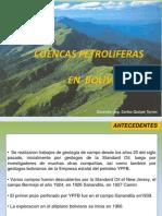Parte 5 Cuencas Petroliferas en Bolivia