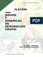 456 Dinámicas de integración grupal