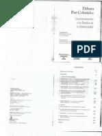 182126575 Debates Post Coloniales Una Introduccion a Los Estudios de Subalternidad