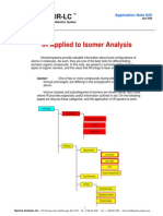 App Note 025 i r Applied to Isomers