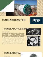 TUNELADORA TBM