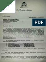 Haiti Les 4 millions de dollars US requis par le PM Evans PAUL