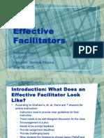 effective facilitators