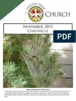 Christ Church Eureka November Chronicle 2015