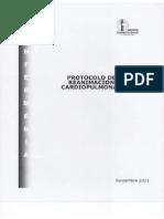 Protocolo de Reanimación Cardiopulmonar
