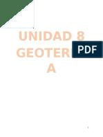 Unidad 8 Geologia