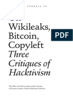 On Wikileaks, Bitcoin, Copyleft