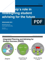 Leadership's Role in Redesigning Student Advising for the Future  (288543477)