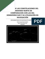Estudio de Las Constelaciones Del Hemisferio Norte en Compar