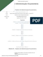 MOD 3 _Noções de Administração Orçamentária