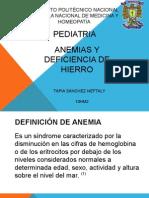 Generalidades Anemia en Pediatria