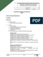 Indice Primer Informe Perfil