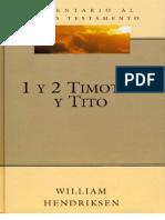 1-2 Timoteo y Tito