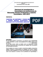 Proyecto Arduino Con Voz y Bluetooth