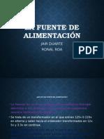 FUENTE DE ALIMENTACION