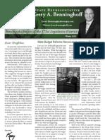 Benninghoff Winter 2010 Newsletter