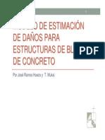 01 Modelo de Estimacion de Danos Para Estructuras de Bloque de Concreto