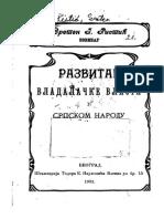 Sreten Ristić - Razvitak vladalacke vlasti u srpskom narodu (1902).pdf