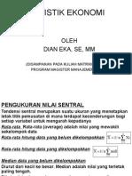 Matrikulasi Statistik Ekonomi