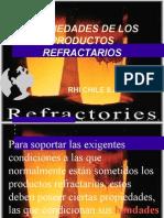 1 1 Propiedades de Los Productos Refractarios