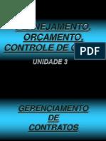 UNID 03 - Planejamento, Programação e Controle
