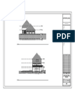 clear lake estate revit project - sheet - a6 - elevations