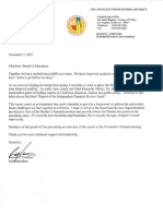 Independent Financial Review Panel - Memo to the Board 11-3-2015