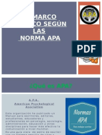 Marco Teorico- Normas APA