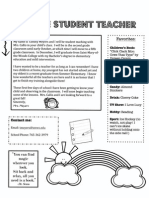 meyers meet the student teacher letter