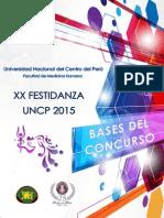 Bases XX Festidanza UNCP 2015