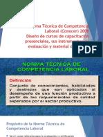 Norma Técnica de Competencia Laboral (Conocer).pptx